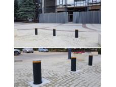 Комплект дорожного блокиратора J200 высотой 600 мм, окрашенная сталь