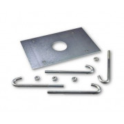 NICE XBA16 анкерная пластина с крепежом