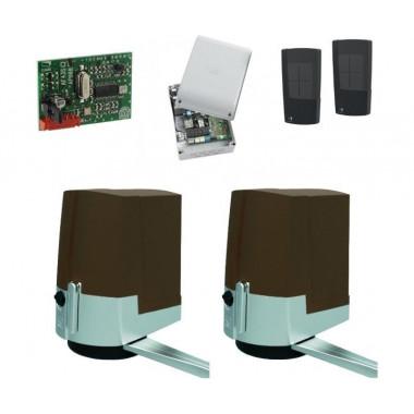 CAME BROWN LINE 1000 BASIC COMBO CLASSICO (001UOPB1000/B) комплект автоматики для распашных ворот до 250 кг