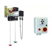 FAAC 540X BPR с кнопочной панелью XB300 109510 осевой привод для секционных ворот