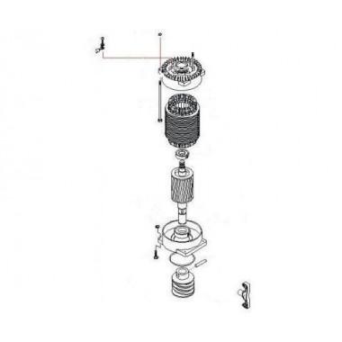 CAME 119RIBK019 Электродвигатель ВК-1200