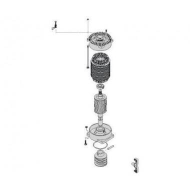 CAME 119RIBX033 Электродвигатель BХ-Р