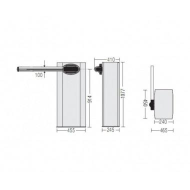 CAME GARD 6500 автоматический шлагбаум 6.5 м