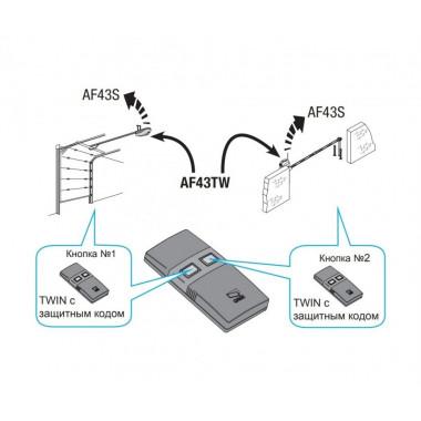 CAME TW4EE (001TW4EE) брелок-передатчик 4-х канальный