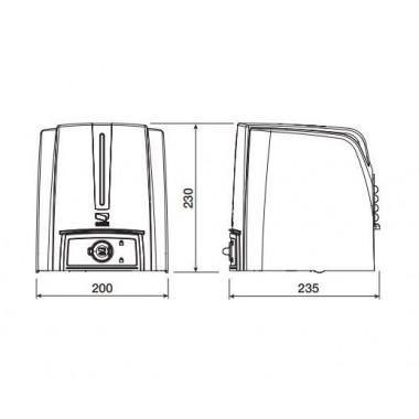 CAME FA70230 привод рычажный для распашных ворот