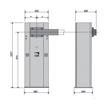 CAME GARD 6000 COMBO CLASSICO комплект автоматического шлагбаума до 6 м