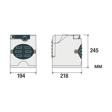 CAME F7024N привод для распашных ворот