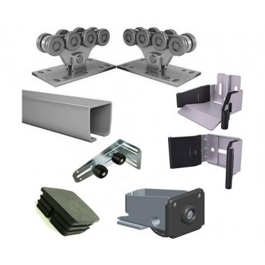 Alutech SGN.02 комплект консольного оборудования для ворот до 700кг с рельсом