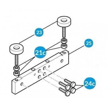 CAME 119RIG332 Комплект болтов коромысла и микровыключателей для G4040