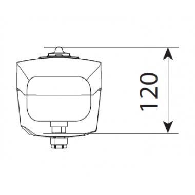 CAME AXI2000 (001SWN20) серый самоблокирующийся привод для распашных ворот