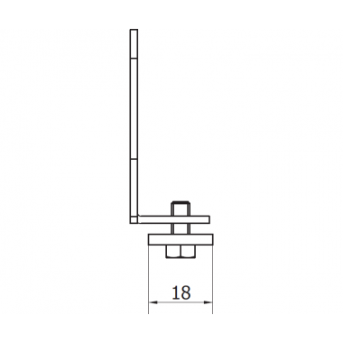 CAME PILOT SN (1700007) заглушка для рельса