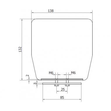 CAME PILOT LN (1700024) заглушка для рельса