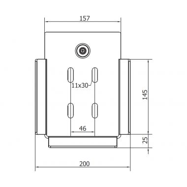 CAME LAST L (1700021) улавливатель концевого ролика