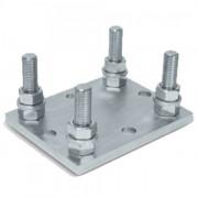 DoorHan DHS200307 подставка регулируемая роликовой опоры для балок 138х144х6 и 95х88х5