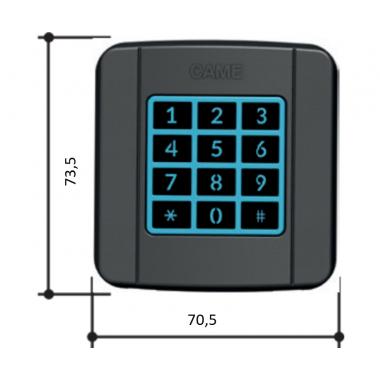 CAME SELT1W4G (806SL-0170) Клавиатура кодонаборная беспроводная накладная
