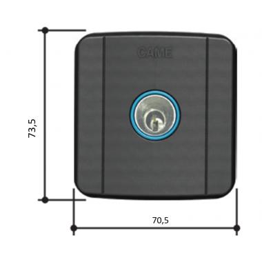 CAME SELC2FDG (806SL-0020) Ключ-выключатель встраиваемый