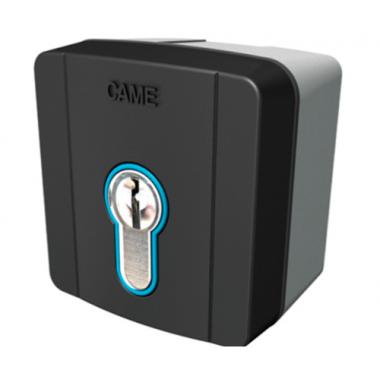 CAME SELD1FDG (806SL-0050) Ключ-выключатель накладной с цилиндром замка