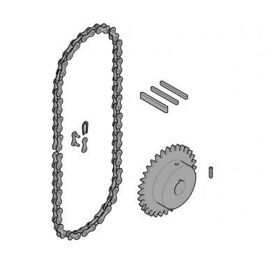 CAME 119RICX016 Передающая система (цепь и звездочки) C005