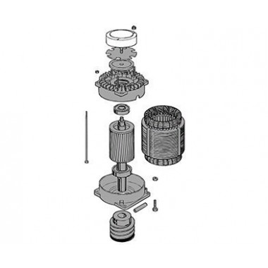 CAME 119RIC042 Электродвигатель C-BYT