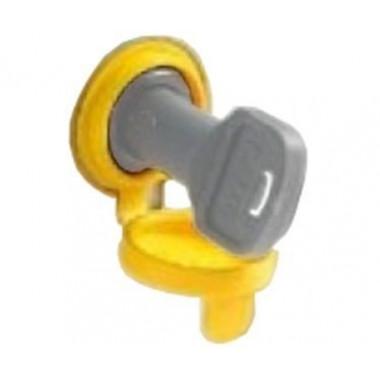 CAME 119RIBS012 Колпачек замка разблокировки BXV желтый
