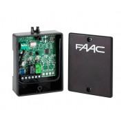 FAAC Радиоприемник 2-канальный внешний универсальный XR 433 МГц с кодировкой SLH или RC (787752)