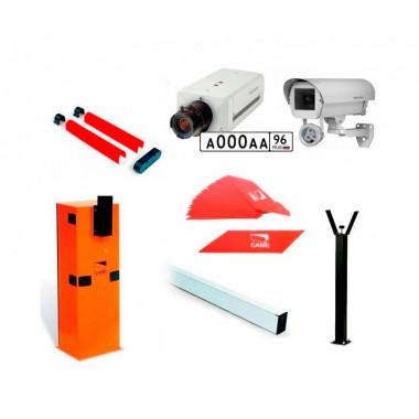 CAME 6 комплект шлагбаума с распознаванием автомобильных номеров