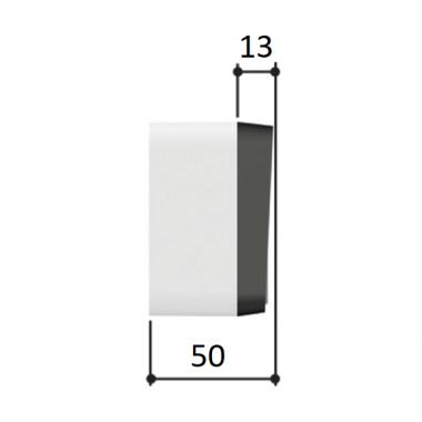 CAME S7000 (001S7000) кодовая клавиатура 7-кнопочная накладная
