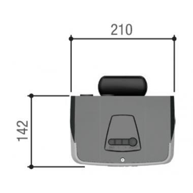 CAME VER 13 до 2,70 м COMBO CLASSICO комплект для автоматизации секционных гаражных ворот